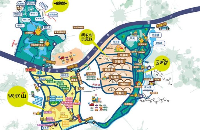 【长沙县一日游】浔龙河生态艺术小镇地址-游览攻略-门票价格